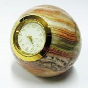 Rutulys iš onikso su laikrodžiu SU014