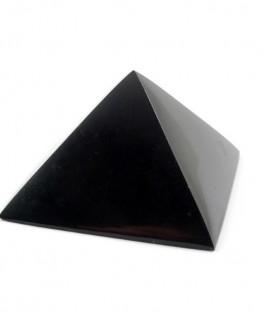 Piramidė iš šungito (poliruota) 6x6cm